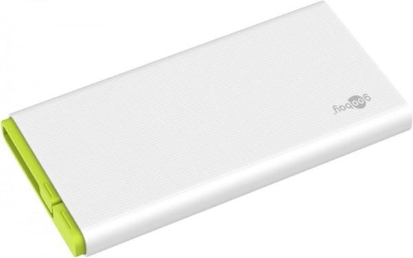 USB Powerbank 10000mAh mit integriertem Mirco-USB-Kabel