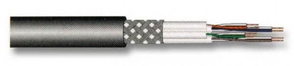 Verlegekabel, CAT.7, PIMF, UC900 SS23 4P PE, schwarz, 500m Rolle