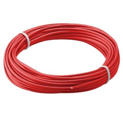 Kupferlitze isoliert, 10M, 1x0,14mm, rot, Good Connections®