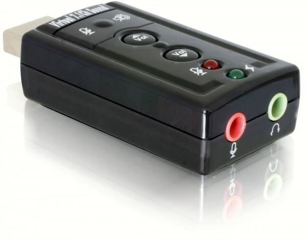 USB 2.0 Sound Adapter 7.1