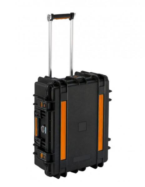 Tablet-Ladetrolley für bis zu 14 Geräte, spritzwassergeschützt, schwarz, Good Connections®