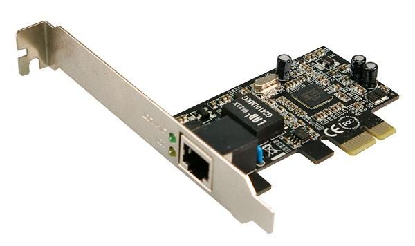 LogiLink® Gigabit PCI Express Netzwerkkarte [PC0029A]