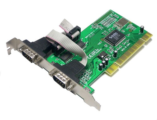 LogiLink® PCI Schnittstellenkarte Seriell 2 x RS232 9pol [PC0016]