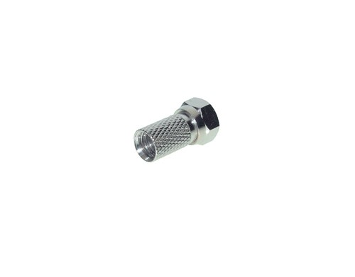F-Stecker, metall, 6,5 mm, Good Connections®