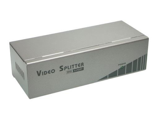 DVI Video Splitter 4-fach