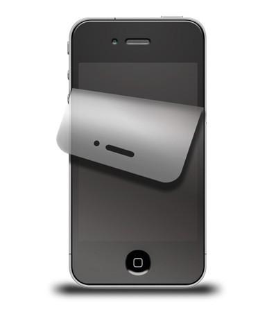 iPhone 4 Displayschutzfolien-Set