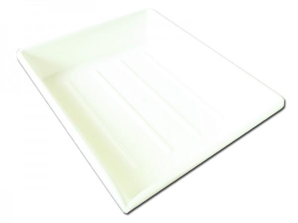 Laborschale PVC, 240 x 300 mm, Farbe: weiss