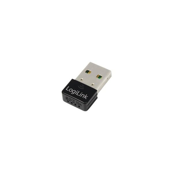 Wireless LAN USB 2.0 Nano Adapter 802.11n, Logilink® [WL0084E]