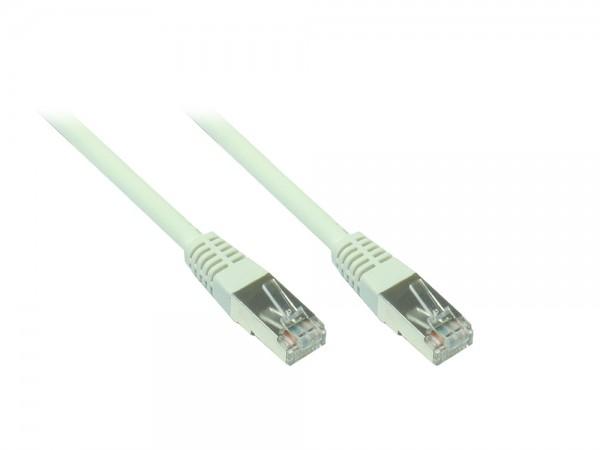 Patchkabel, Cat. 5e, F/UTP, grau, 0,5m, Good Connections®