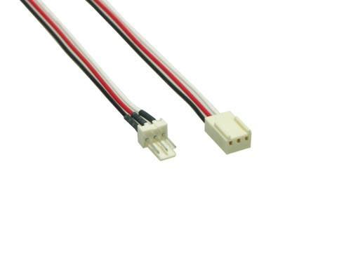 Lüfter Verlängerungskabel, 3pin St/Bu, ca. 60cm, Good Connections®