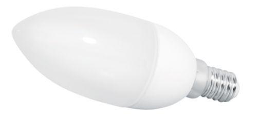 LED Kerzenlampe, 2,5W, 230V, 160 lm, 3000K, (warmweiß), nicht dimmbar, A+, >180° Abstrahlwinkel