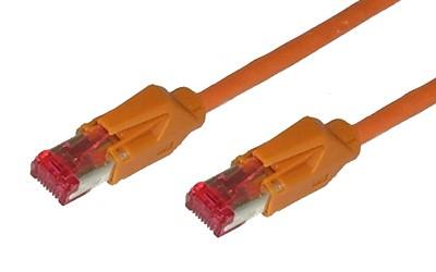 Patchkabel, Cat. 6, S/FTP, PiMF, halogenfrei, 600MHz, Hirose-Stecker, orange, 40m, Good Connections®