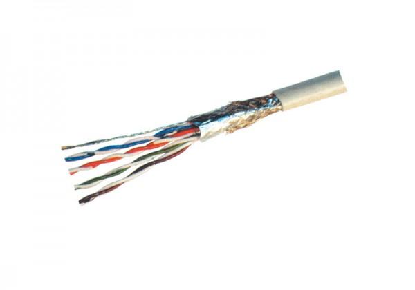 Patchkabel, Cat. 5e, S/FTP, PiMF, halogenfrei, 500m Rolle, Good Connections®