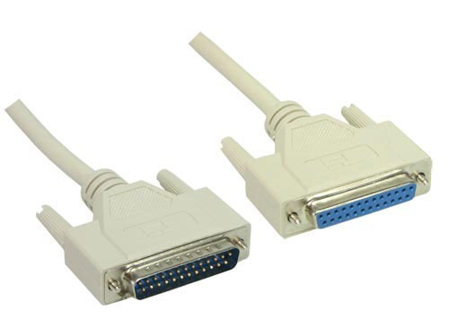 Serielle / Parallele Verlängerung, 25pol St/Bu, Länge: 1,8m, Good Connections®