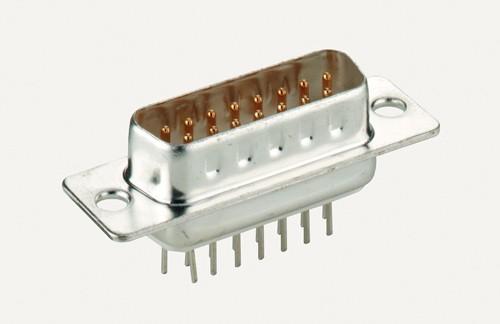 15-POL SubD-STECKER LÖTVERSION, Good Connections®