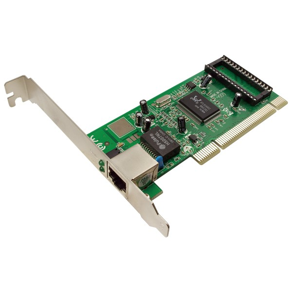 LogiLink® Gigabit PCI Netzwerkkarte, 10/100/1000 Mbits[PC0012]