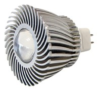 Power-LED, 1W, 12V, 70 lm, 3800K, (warmweiß), nicht dimmbar, A++, 15° Abstrahlwinkel