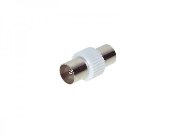 Koax Übergangsstück, Koax Stecker an Koax Stecker, Good Connections®