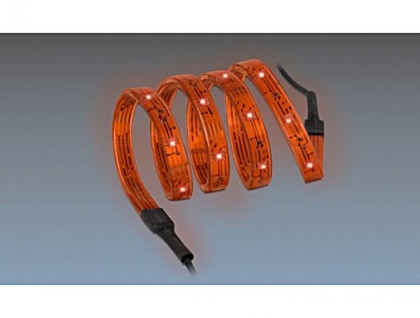 Lichtstreifen LED, STG, 5m, rot, Delock Lighting® [46248]