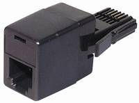Modem Adapter, RJ11 6p4c an England-Stecker, Good Connections®