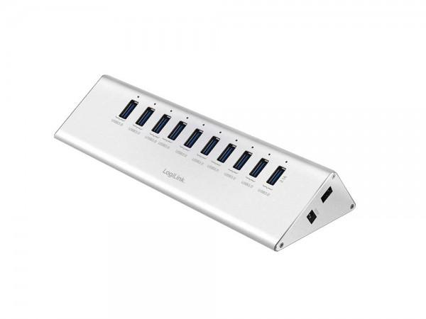 USB 3.0 Hub 10-Port mit Netzteil, LogiLink® [UA0229]