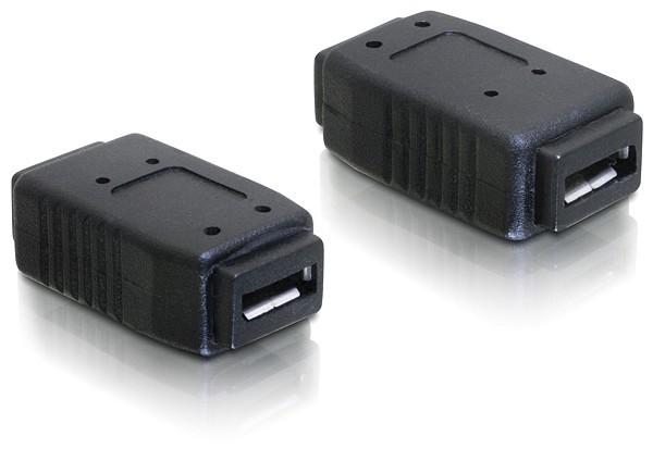 Adapter USB micro-A+B Buchse zu USB micro-A+B Buchse, Good Connections®
