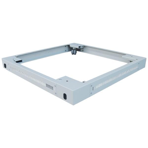 Sockel 600X600 x90mm Standschrank, grau , LogiLink® [PLI66G]