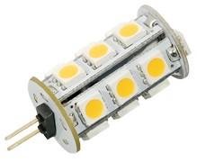 LED G4 Leuchtmittel, 18 x 5050 LEDs, 130 lm, 2,5W, 12V AC/DC