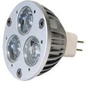 Power-LED, 1W, 12V, 150 lm, 3800K, (warmweiß), nicht dimmbar, A, 45° Abstrahlwinkel
