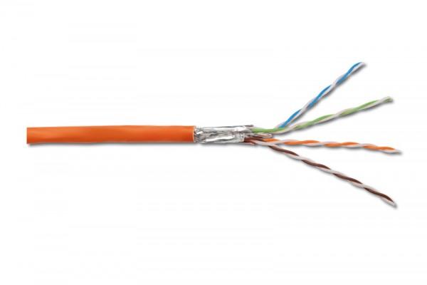 Verlegekabel, Cat. 7, S/FTP, PiMF, 1000MHz, 100m Rolle, Good Connections®