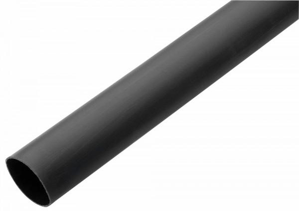 Schrumpfschlauch mit Innenkleber, schwarz, Schrumpfbereich: 40 bis 13 mm, Good Connections®
