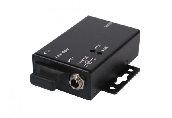 RS-232 zu LWL (Lichtwellen-Leiter) Konverter (Multi Mode MM), Exsys® [EX-6300MM]