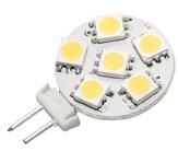Power SMD-LED, 1,2W, 12V, 60 lm, 6000K, (kaltweiß), nicht dimmbar, A+, 120° Abstrahlwinkel
