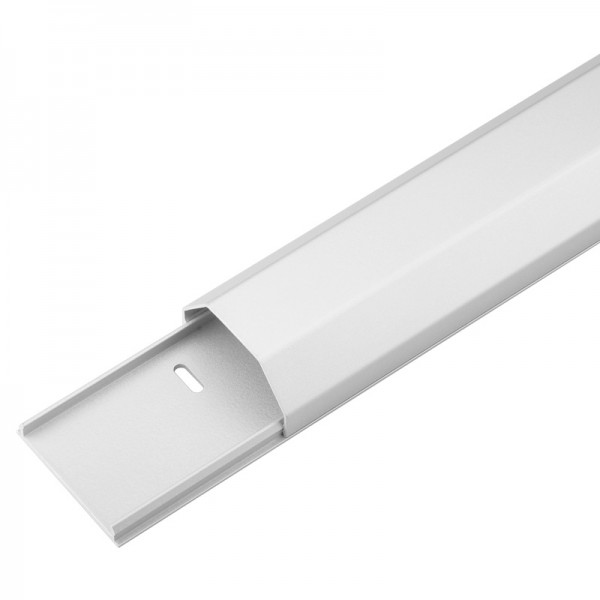 Kabelkanal Aluminium 50mm, weiß, 1,1m