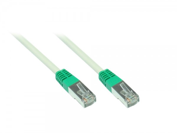 SF/UTP, Cat.5e, Crossover Kabel, 10m, Good Connections®