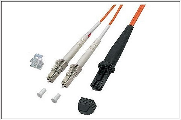 Patchkabel LWL Duplex OM1 (Multimode, 62,5/125) LC/MT-RJ, 10m, Good Connections®