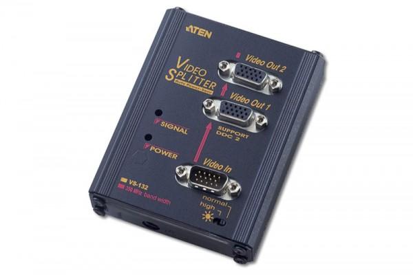 Aten® Monitor Splitter, 2-fach , 350MHz, VS-132