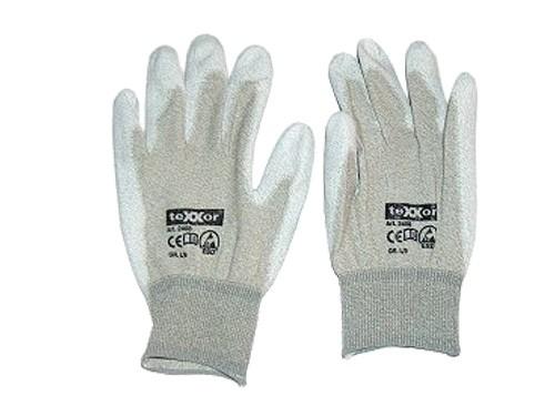 Handschuh Kupferfaser, PU-beschichtet, L
