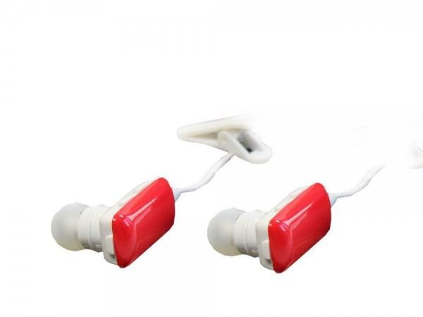 Kopfhörer, Stereo, Bluetooth Wireless, mit Mikrofon, rot