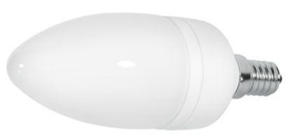 LED Kerzenlampe, 1,5W, 230V, 70 lm, 3000K, (warmweiß), dimmbar, A+, 120° Abstrahlwinkel