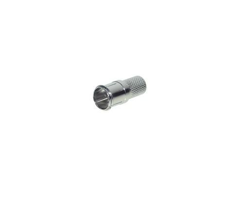 F-Quick-Stecker Twist on Type für 7mm Kabel, Good Connections®