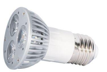 Power-LED, 3W, 230V, 95 lm, 3000K, (warmweiß), dimmbar, A, 45° Abstrahlwinkel