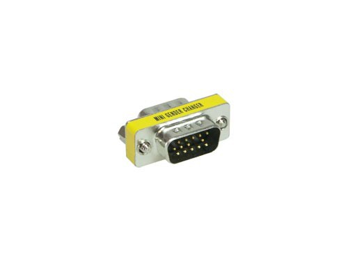 Gender-Changer 15-Pol HD (VGA) Stecker an Stecker, Good Connections®