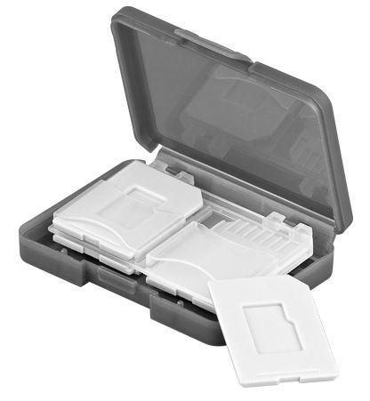 Aufbewahrungsbox für Speicherkarten, 4x SD Karte