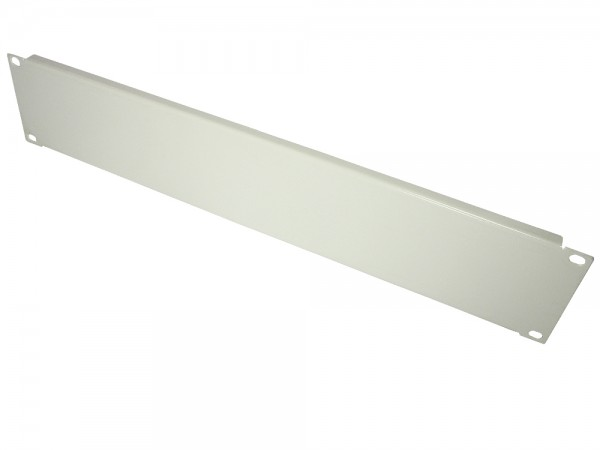 "19"" Blindpanel, 2HE, lichtgrau (RAL7035), Good Connections®"