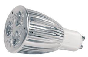 Power LED, GU10, 230V, 6W, 260lm, Ø 50 x 86mm, 3000K, Abstra