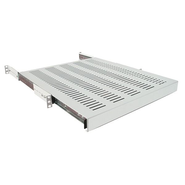 """19"""" Ausziehbarer Fachboden, T=800mm, grau, LogiLink® [SF1S85G]"""