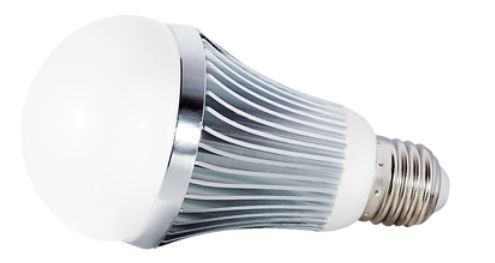 LED-Lampe, 9W, 230V, 630 lm, 3000K, (warmweiß), dimmbar, A+, >180° Abstrahlwinkel