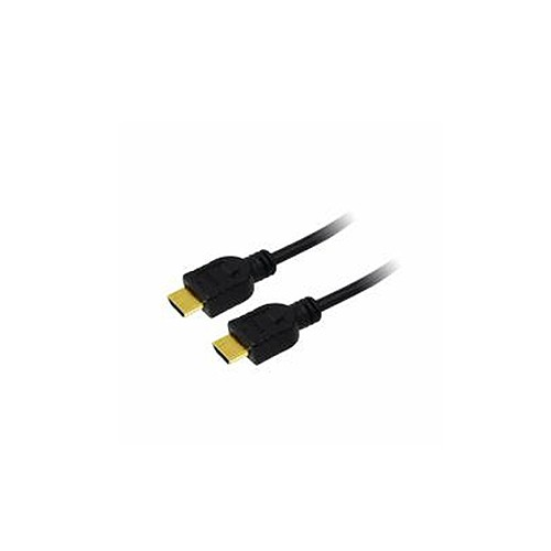 LogiLink® High-Speed-HDMI®-Kabel mit Ethernet , schwarz, 5m [CH0039]
