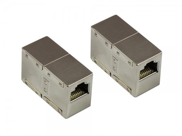 Patchkabelkupplung Cat. 6, RJ45, vollgeschirmt, Good Connections®